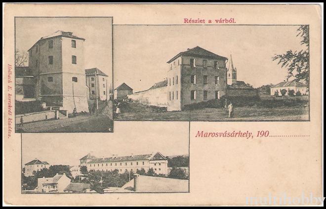 Colaj cu centrul din Tirgu Mures